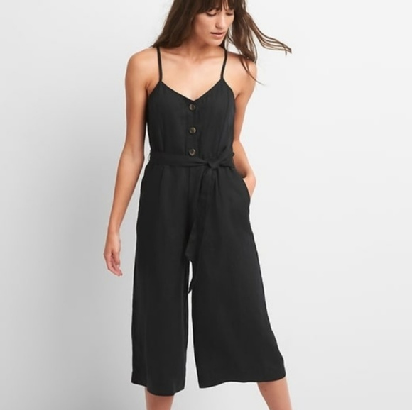 d6dec746e99b GAP Linen Cami Jumpsuit
